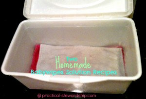 Babywipes Solution