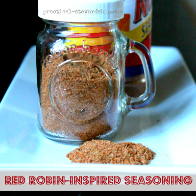 Homemade Red Robin Inspired Seasoning