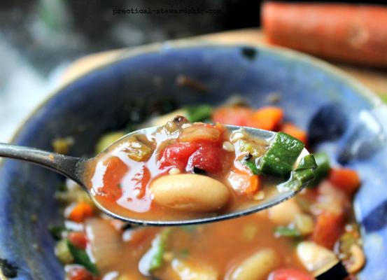 Tuscan Vegetable Soup, V