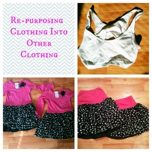 Re-purposing Clothing to Clothing Collage