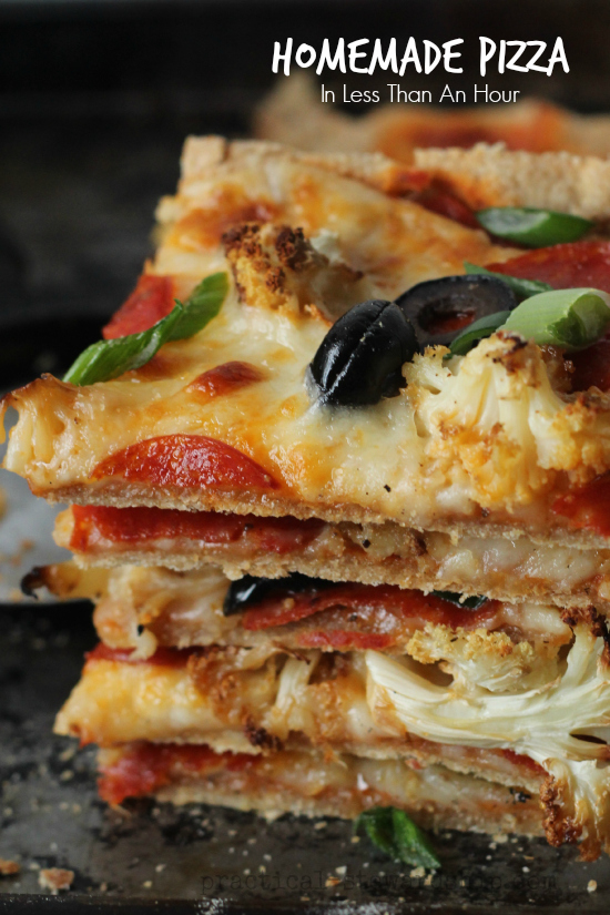 homemade Pizza In Less Than An Hour