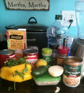 white bean chili ingredients