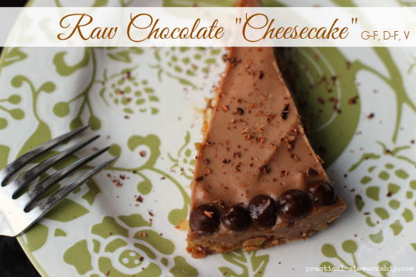 "Raw Chocolate ""Cheesecake"""