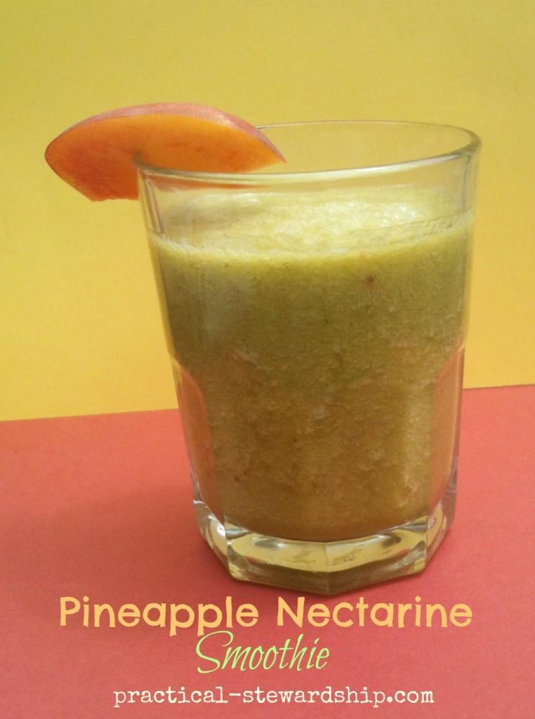Pineapple Nectarine Smoothie