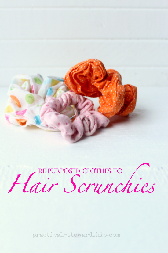 tutorial how to make scrunchies