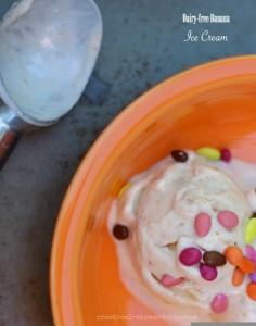 Dairy-free Banana Ice Cream