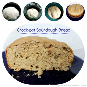 Crock-pot Sourdough Bread