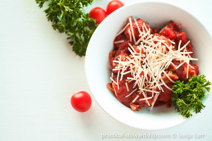 Crock-pot Tortellini