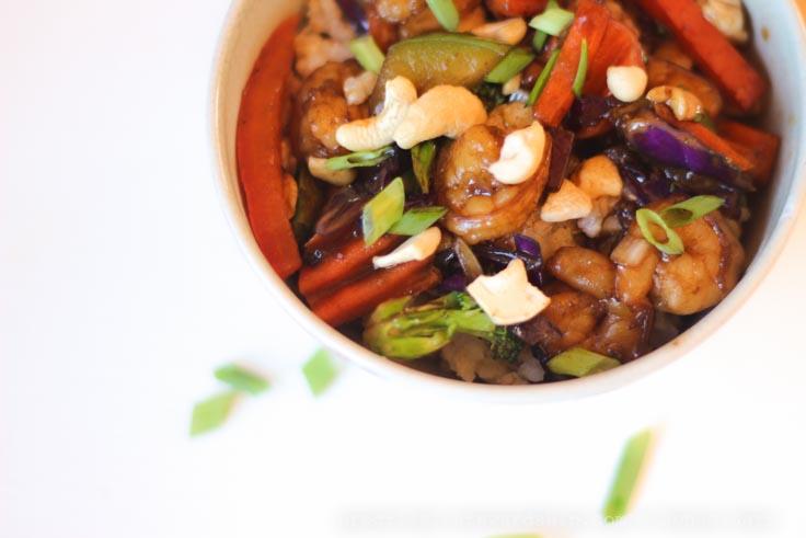Thai Cashew Shrimp