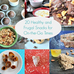 20 Healthy and Frugal Snacks for On-the-Go Times