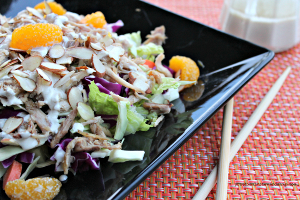 Applebee's Oriental Chicken Salad G-F