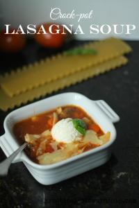 Lasagna Soup Crock-pot Style