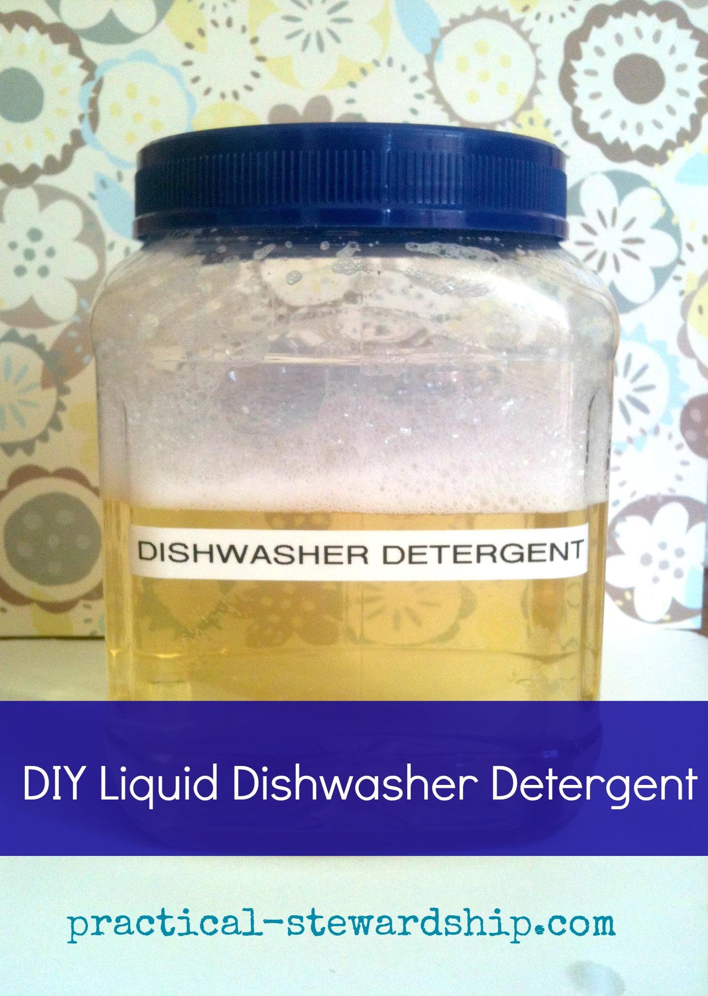Revised & Improved Homemade Three Ingredient Liquid ...