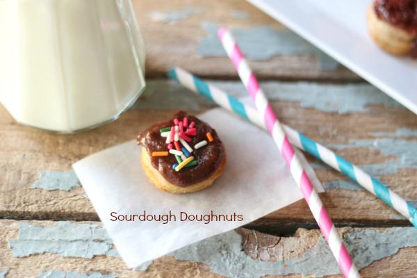Sourdough Doughnut, Vegan opt.