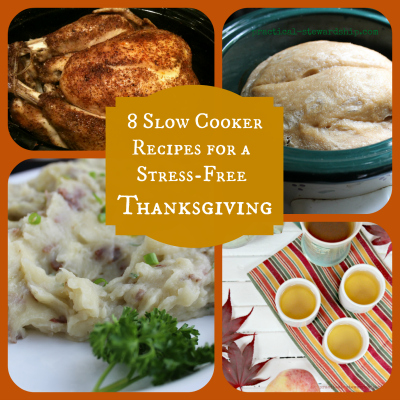 8 Slow Cooker Thanksgiving Recipes