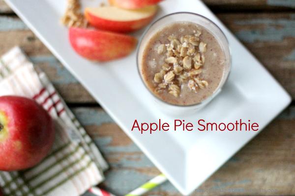Apple Pie Smoothie with Granola