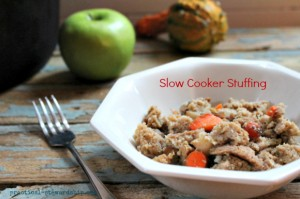 Crock-pot Stuffing, Vegan Friendly
