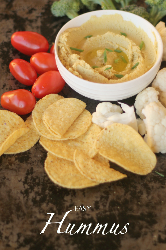 Easy Basic Hummus