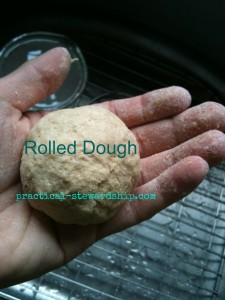 Rolled Dough @ practical-stewardship.com