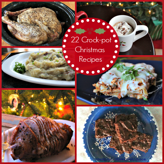 Slow Cooker Christmas Recipes