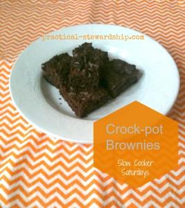 Crock-pot Brownies G-F @ practical-stewardship.com