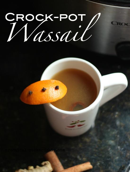 Crock-pot Wassail