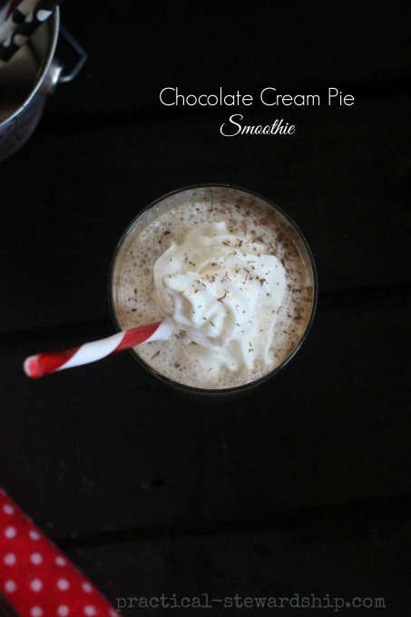 Chocolate Cream Pie Smoothie