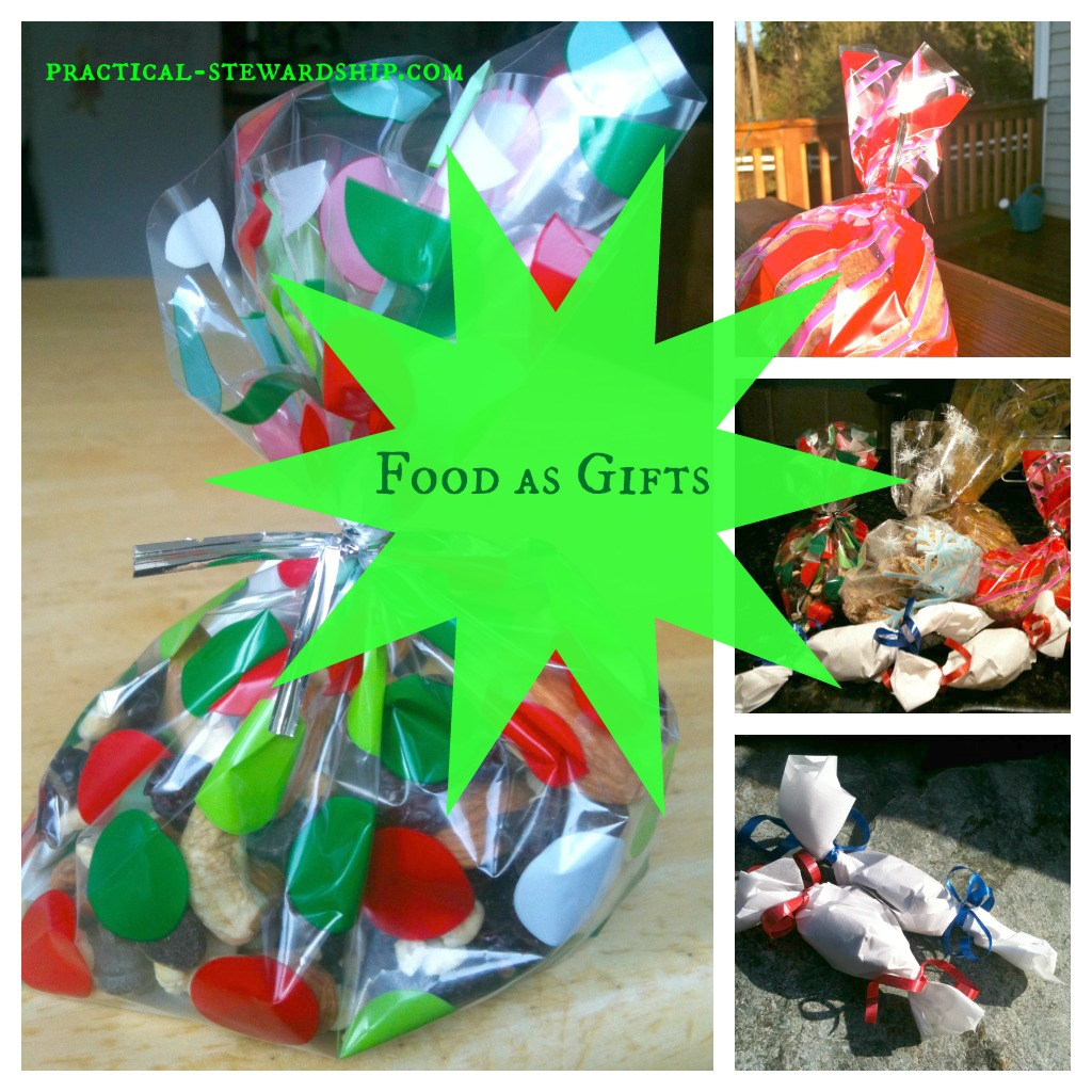 Food as Gifts Collage @ practical-stewardship.com