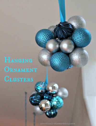Hanging Ornament Clutster