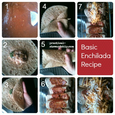 Basic Enchilada Collage @ practical-stewardship.com