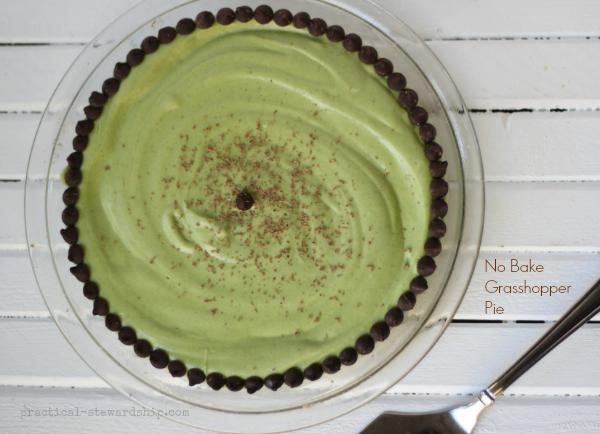 Grasshopper Pie with Secret Ingredient