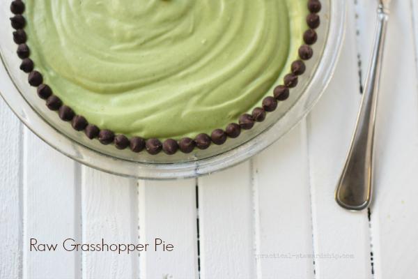 Raw Grasshopper Pie