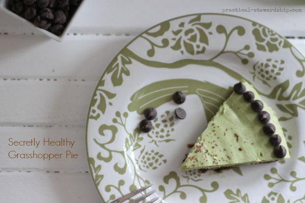 Secretly Healthy Grasshopper Pie