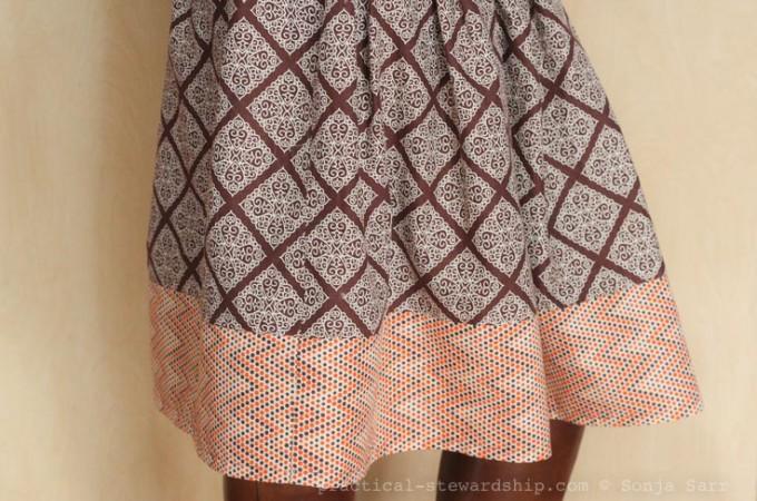 Easy Elastic-Waist Skirt Tutorial