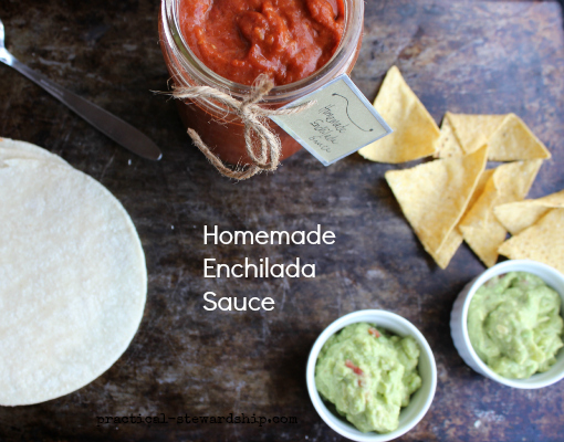 DIY Enchilada Sauce