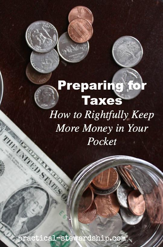 Preparing Ahead for Taxes