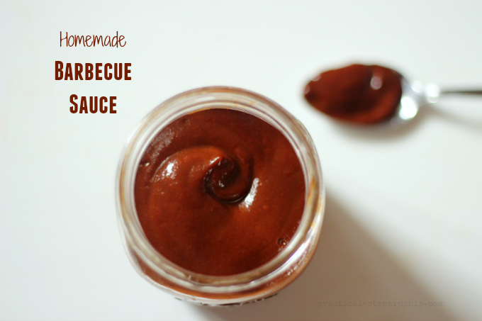 Homemade Hoeny Barbecue Sauce