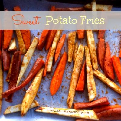 Mixed Sweet Potato Fries