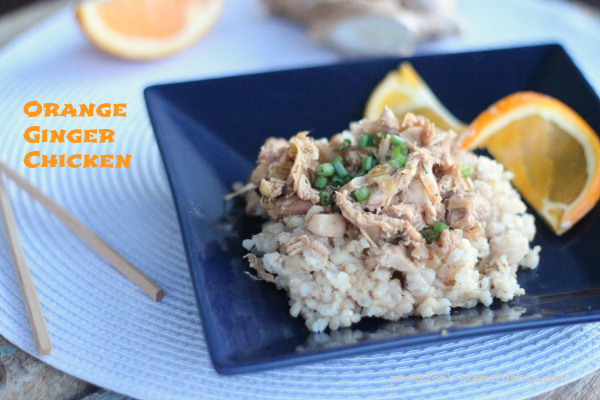 Slow Cooker Orange Ginger Chicken