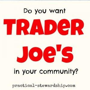 Trader Joe's in the Community