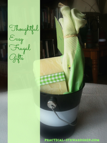Homemade Soap Gift Frugal, Easy, Thoughtful Gifts