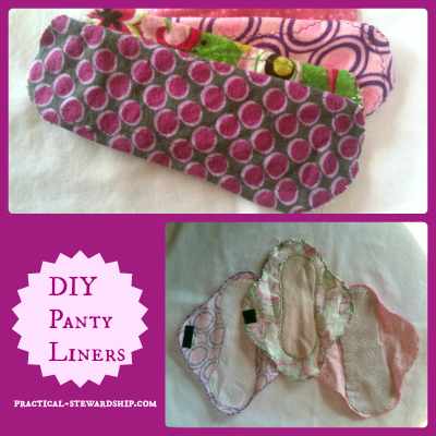 DIY Panty Liners Tutorial