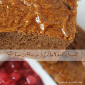 Paleo Almond Butter Bread