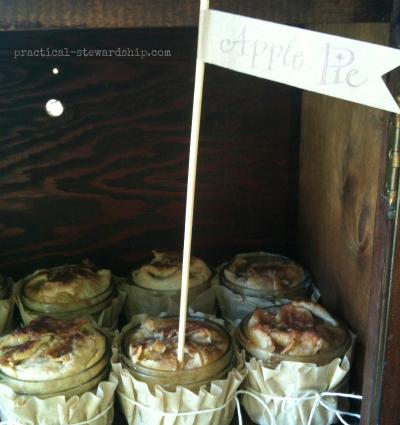 Apple Pie @ the Burlap Party