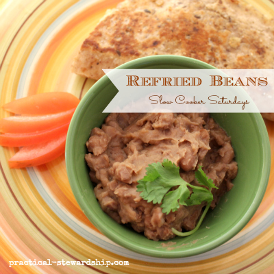 Easy Crock-pot Refried Beans