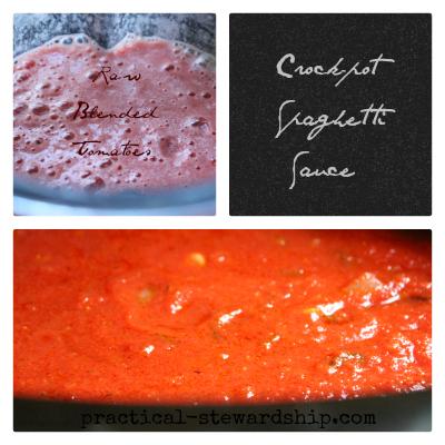 Crock-pot Spaghetti Sauce