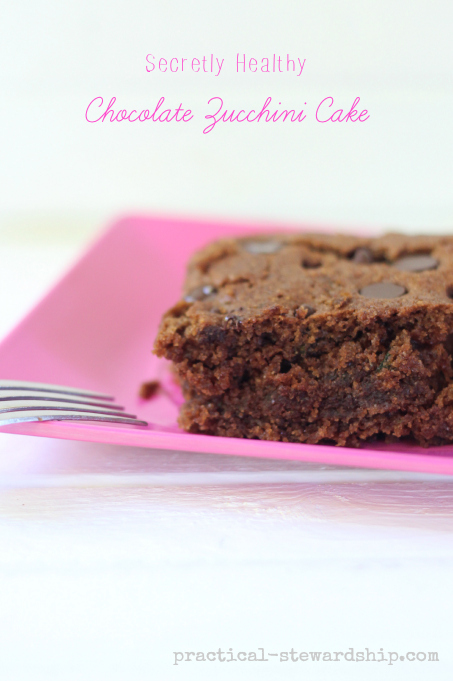 Secretly Healthy Chocolate Zucchini Cake