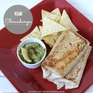 Vegan Chimichangas