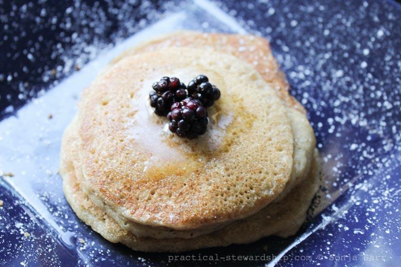 Sourdough Pancakes-