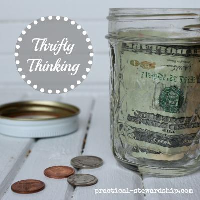 Finance Thrifty Thinking